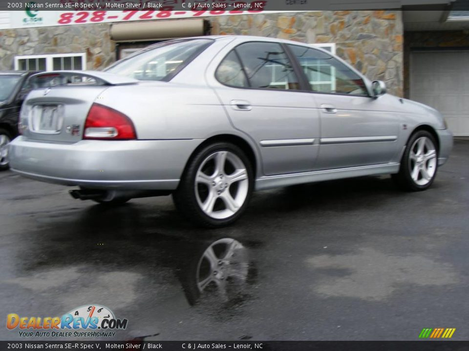 2003 Nissan Sentra SE-R Spec V Molten Silver / Black Photo ...