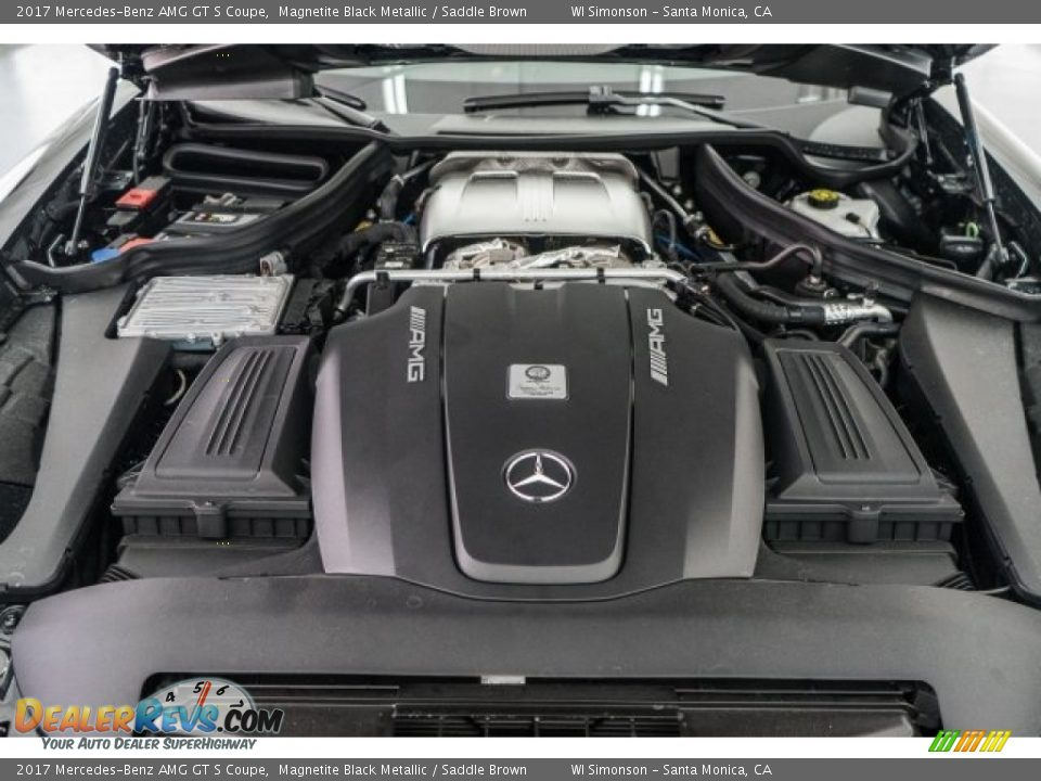 2017 Mercedes-Benz AMG GT S Coupe 4.0 Liter AMG Twin-Turbocharged DOHC 32-Valve VVT V8 Engine Photo #9