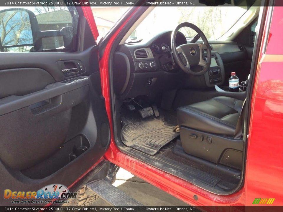2014 Chevrolet Silverado 2500HD LTZ Crew Cab 4x4 Victory Red / Ebony Photo #5