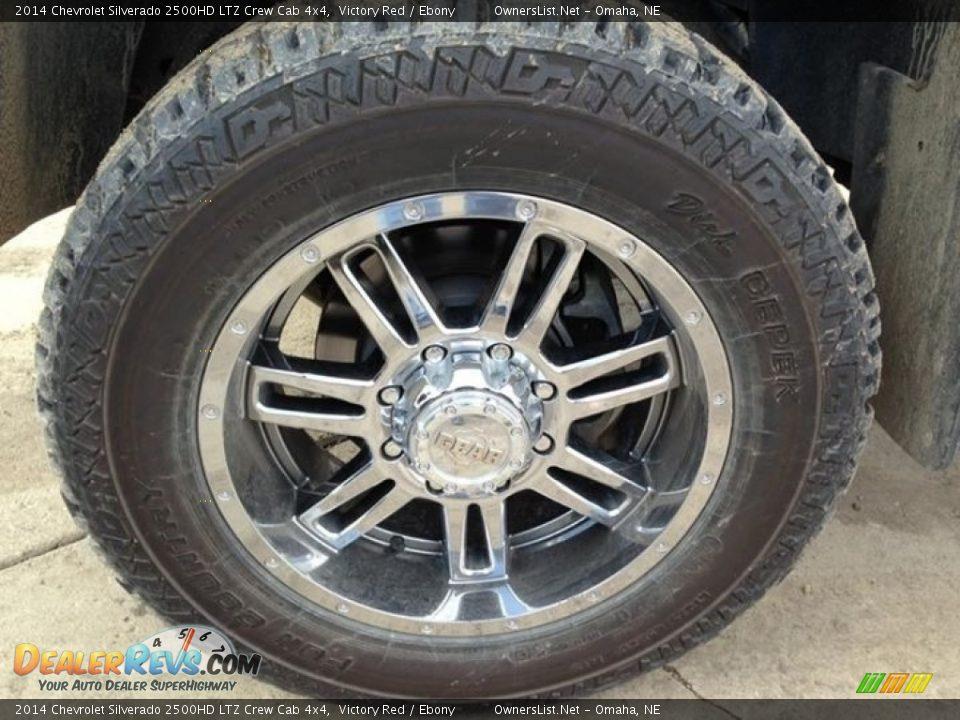2014 Chevrolet Silverado 2500HD LTZ Crew Cab 4x4 Victory Red / Ebony Photo #8
