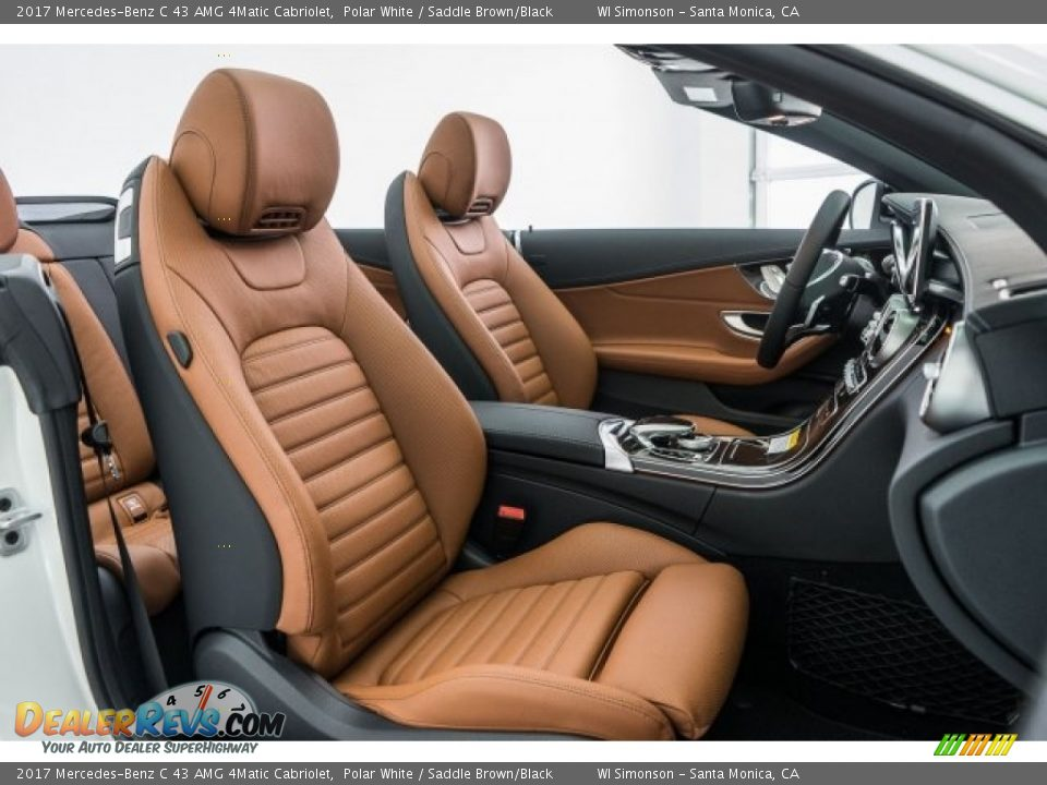 Saddle Brown/Black Interior - 2017 Mercedes-Benz C 43 AMG 4Matic Cabriolet Photo #2