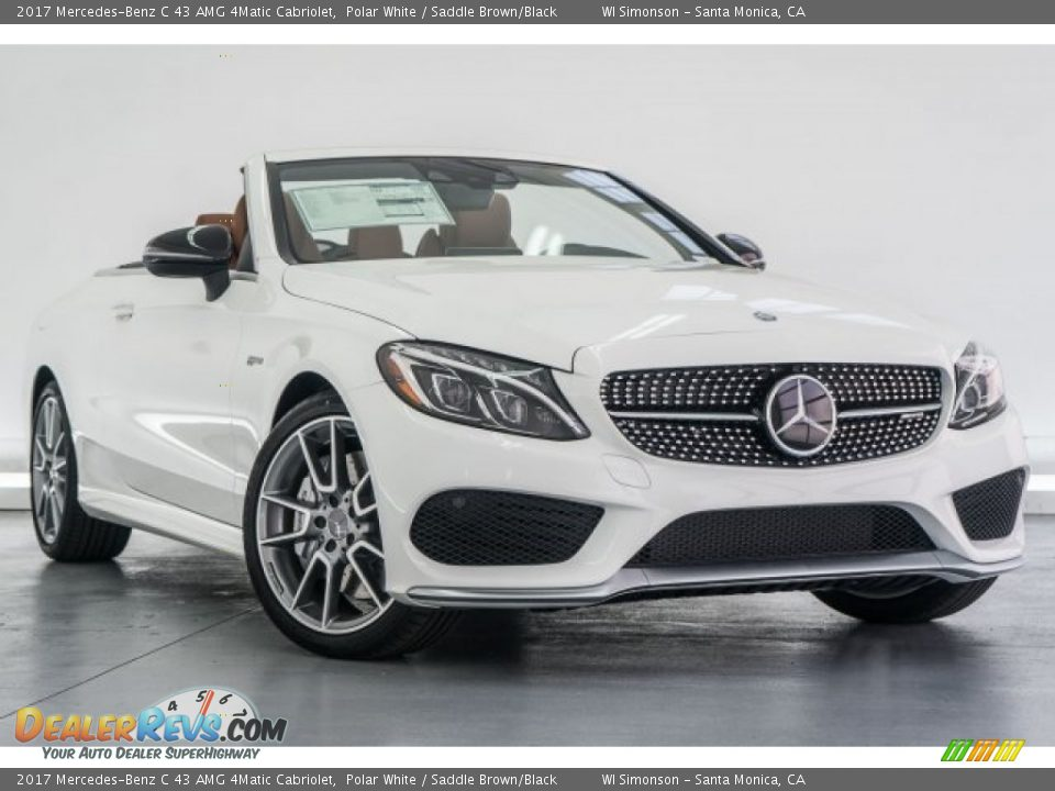 Front 3/4 View of 2017 Mercedes-Benz C 43 AMG 4Matic Cabriolet Photo #12