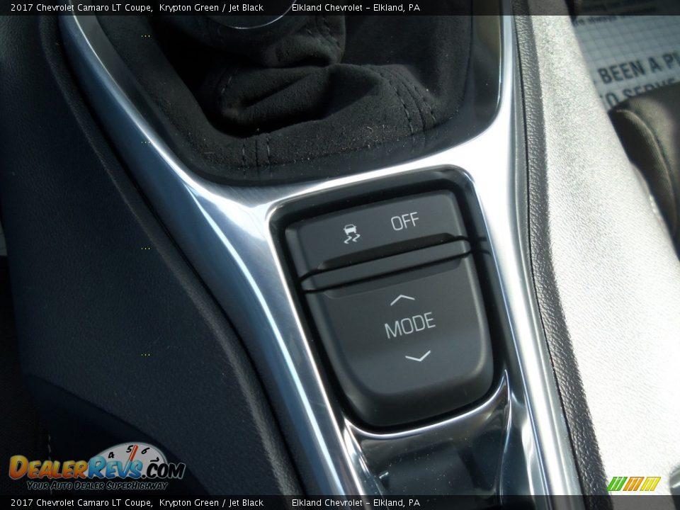 2017 Chevrolet Camaro LT Coupe Krypton Green / Jet Black Photo #20