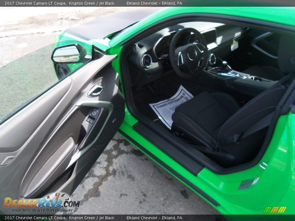 Jet Black Interior - 2017 Chevrolet Camaro LT Coupe Photo #25