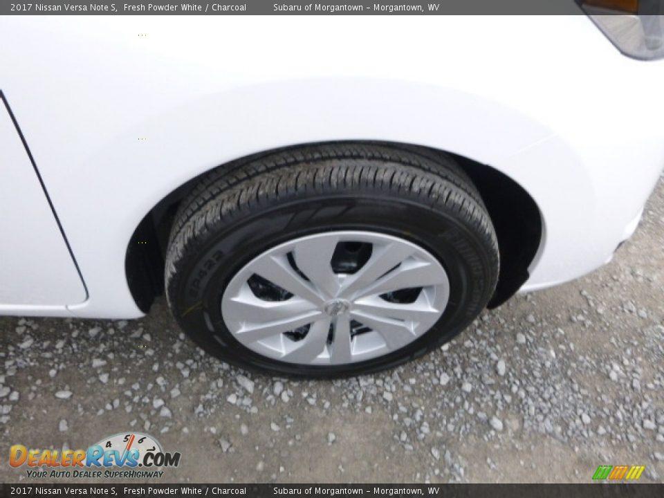 2017 Nissan Versa Note S Fresh Powder White / Charcoal Photo #2