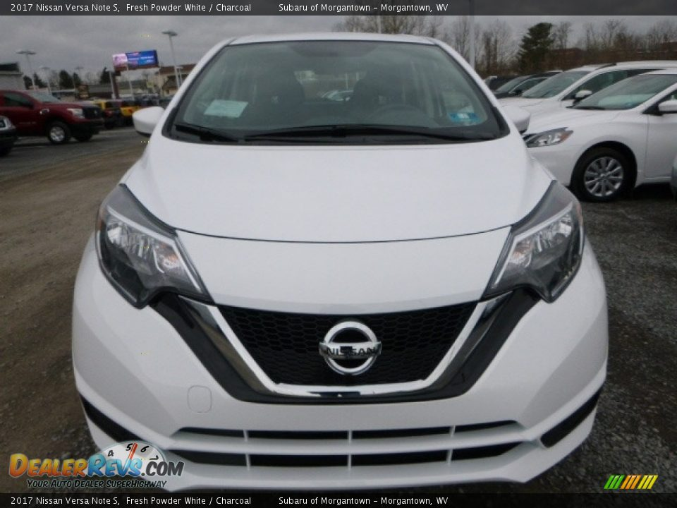2017 Nissan Versa Note S Fresh Powder White / Charcoal Photo #10