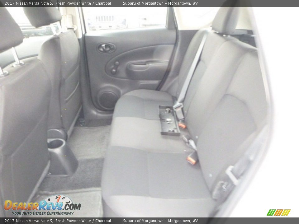 2017 Nissan Versa Note S Fresh Powder White / Charcoal Photo #13