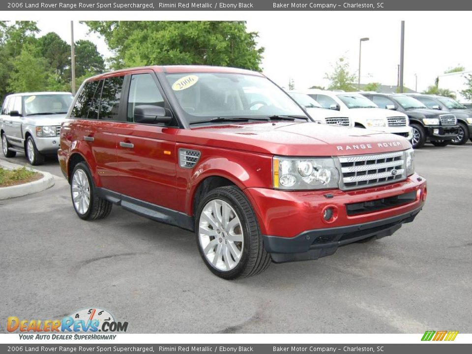 2006 Land Rover Range Rover Sport Supercharged Rimini Red ...