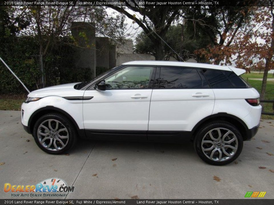 2016 Land Rover Range Rover Evoque SE Fuji White / Espresso/Almond Photo #11