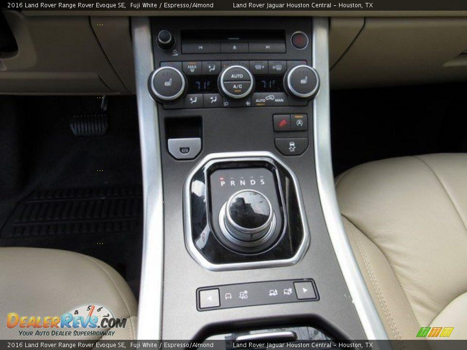 2016 Land Rover Range Rover Evoque SE Fuji White / Espresso/Almond Photo #18