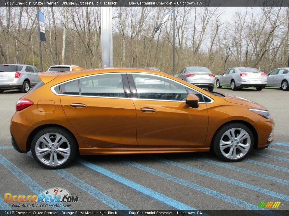 2017 Chevrolet Cruze Premier Orange Burst Metallic / Jet Black Photo #7