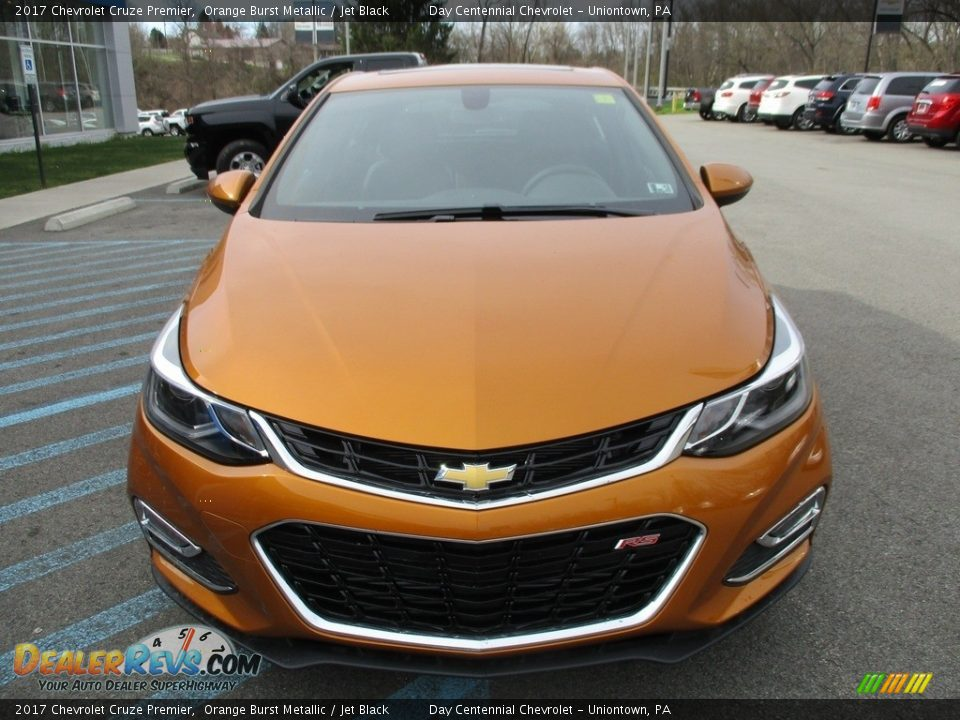 2017 Chevrolet Cruze Premier Orange Burst Metallic / Jet Black Photo #9