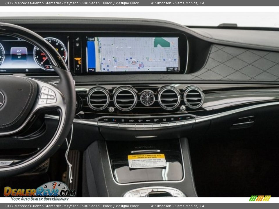 Controls of 2017 Mercedes-Benz S Mercedes-Maybach S600 Sedan Photo #8
