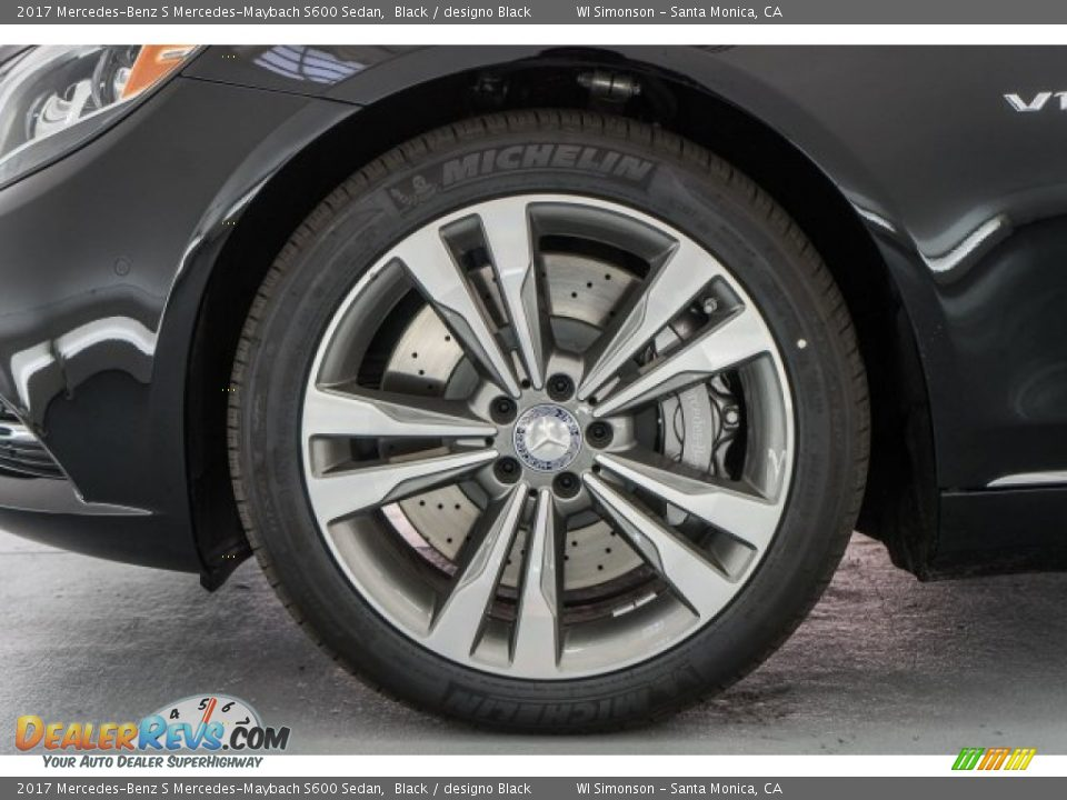 2017 Mercedes-Benz S Mercedes-Maybach S600 Sedan Wheel Photo #10