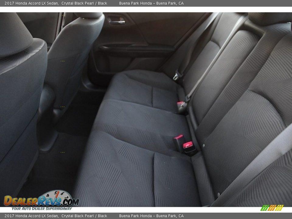 2017 Honda Accord LX Sedan Crystal Black Pearl / Black Photo #11