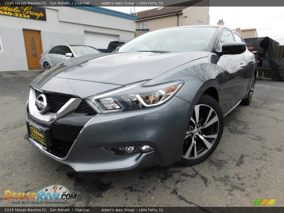 2016 Nissan Maxima SV Gun Metallic / Charcoal Photo #1