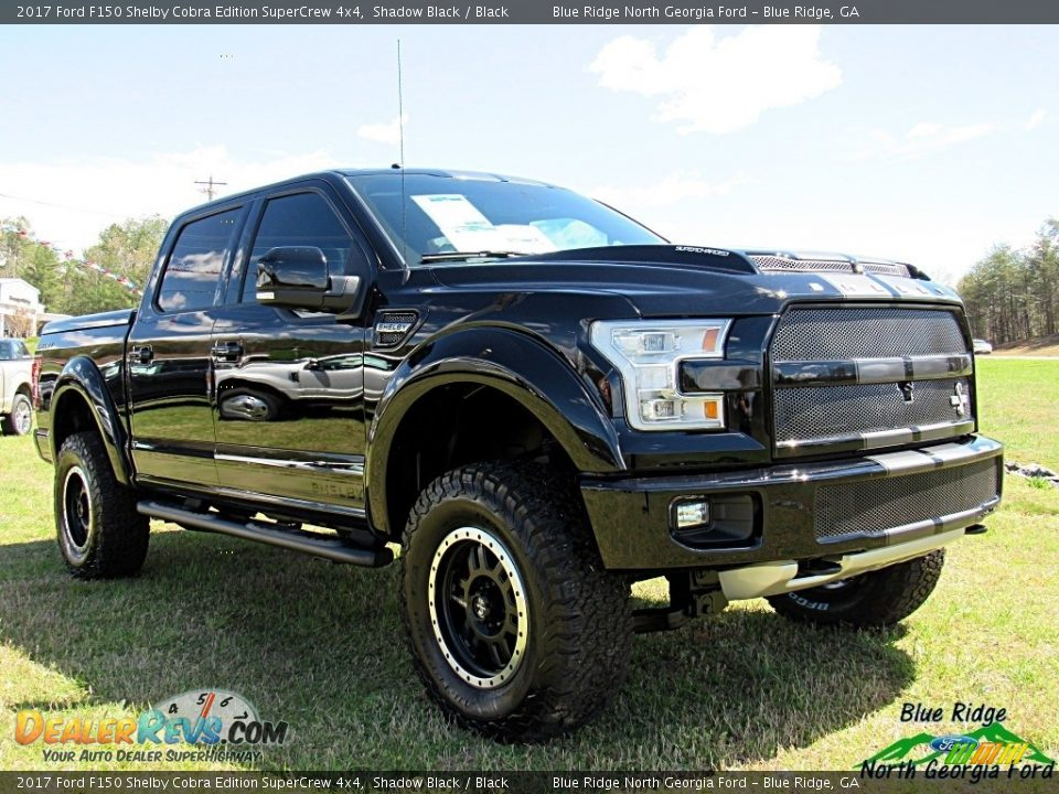 2017 Ford F150 Shelby Cobra Edition SuperCrew 4x4 Shadow Black / Black Photo #7