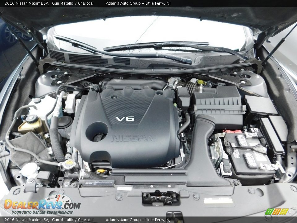2016 Nissan Maxima SV Gun Metallic / Charcoal Photo #33