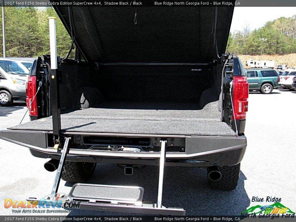 2017 Ford F150 Shelby Cobra Edition SuperCrew 4x4 Shadow Black / Black Photo #30