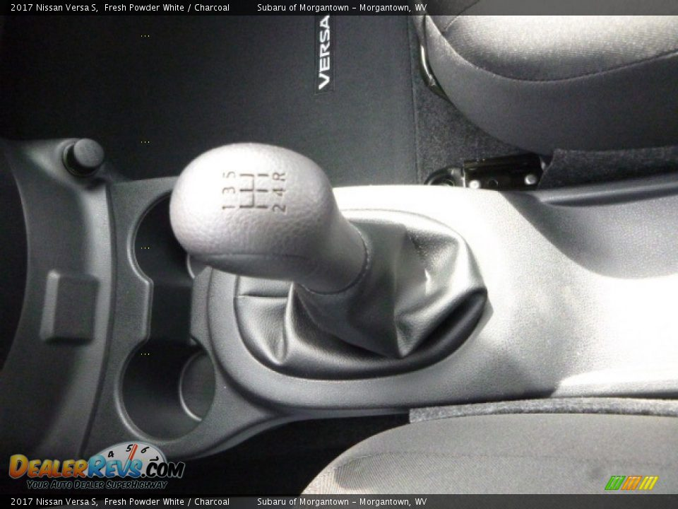 2017 Nissan Versa S Fresh Powder White / Charcoal Photo #20