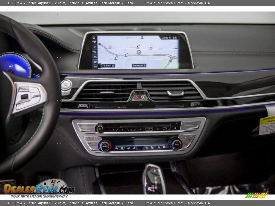2017 BMW 7 Series Alpina B7 xDrive Individual Azurite Black Metallic / Black Photo #5