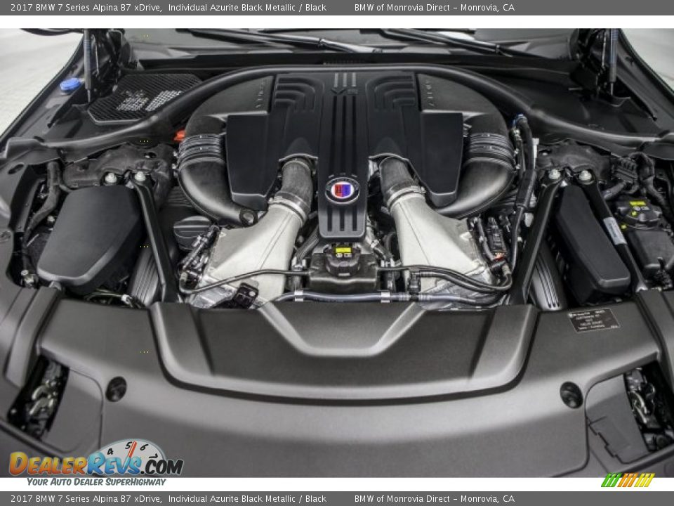 2017 BMW 7 Series Alpina B7 xDrive 4.4 Liter DI TwinPower Turbocharged DOHC 32-Valve VVT V8 Engine Photo #8