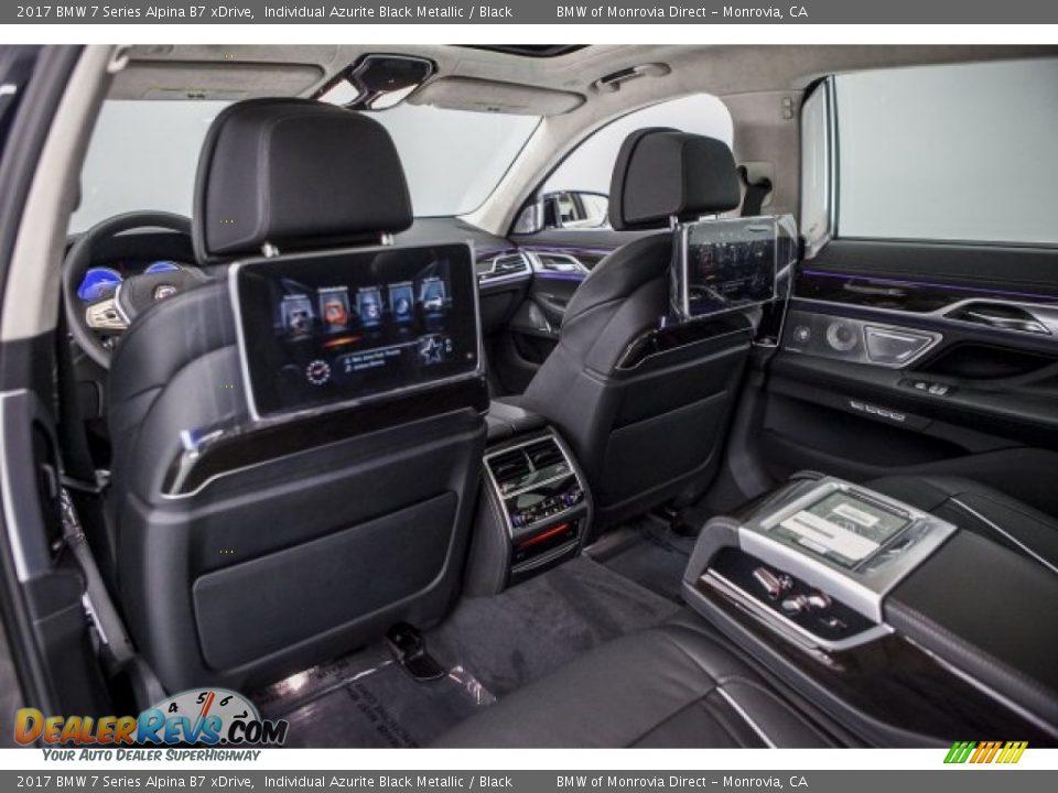 Rear Seat of 2017 BMW 7 Series Alpina B7 xDrive Photo #10