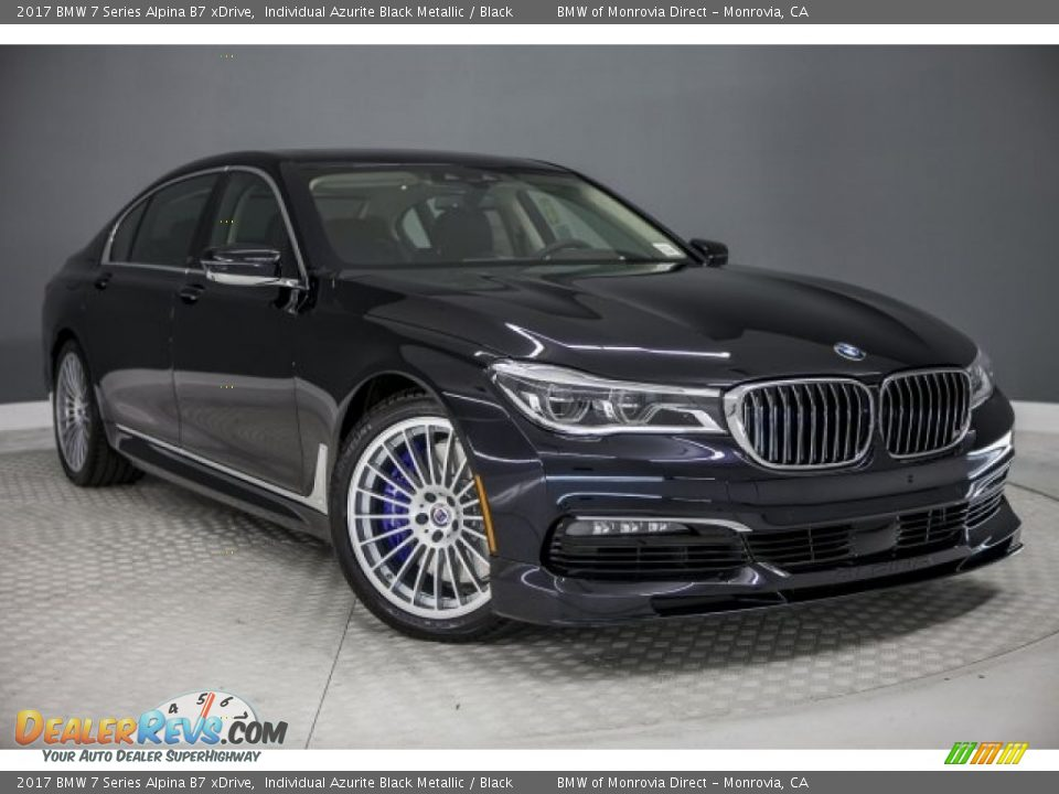Front 3/4 View of 2017 BMW 7 Series Alpina B7 xDrive Photo #14