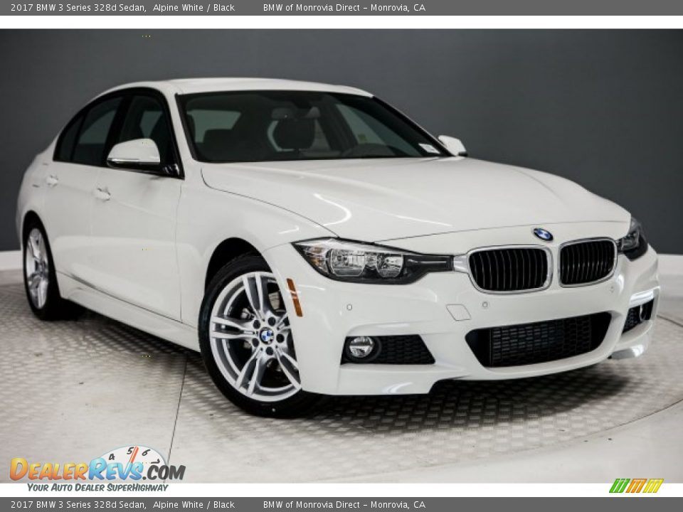 Front 3/4 View of 2017 BMW 3 Series 328d Sedan Photo #12