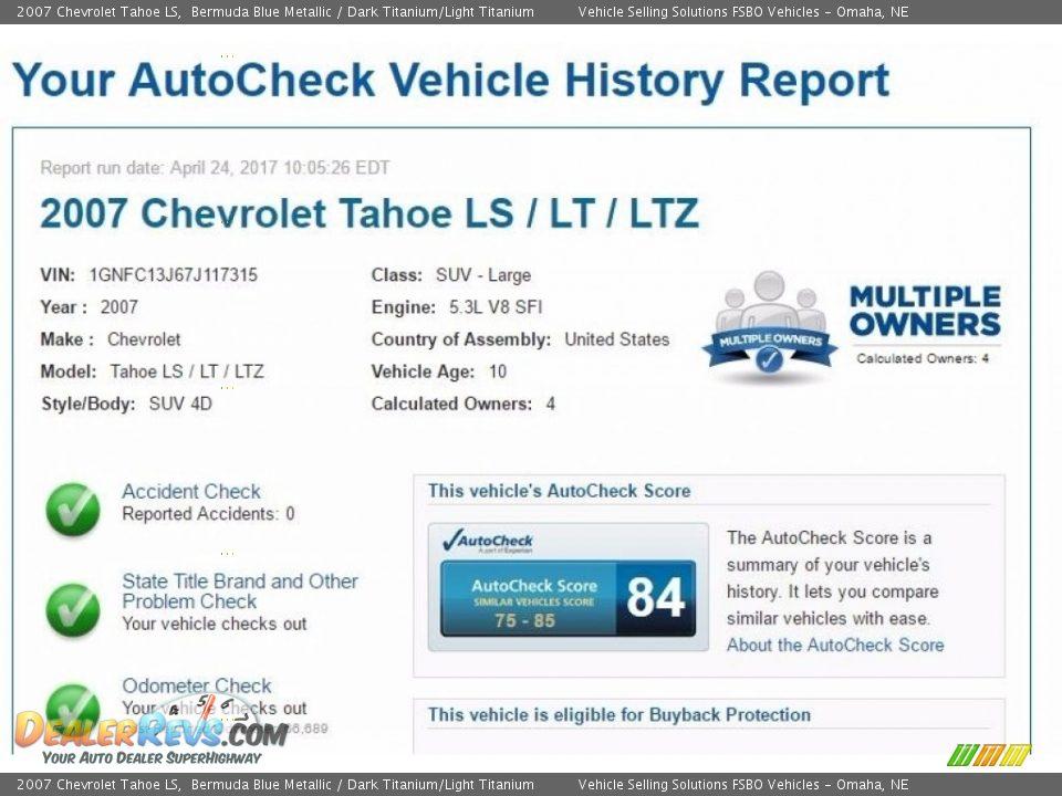 Dealer Info of 2007 Chevrolet Tahoe LS Photo #2