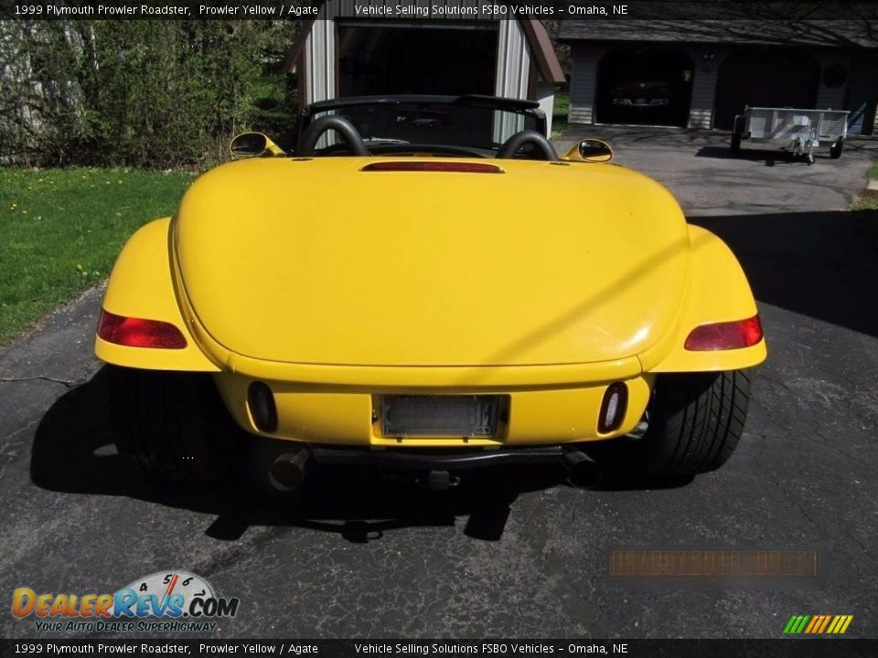 1999 Plymouth Prowler Roadster Prowler Yellow / Agate Photo #3