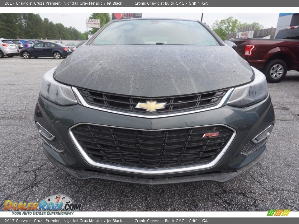 2017 Chevrolet Cruze Premier Nightfall Gray Metallic / Jet Black Photo #2