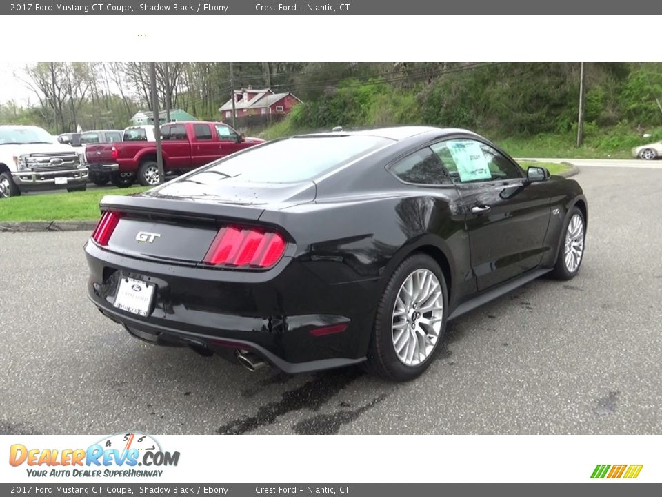 2017 Ford Mustang GT Coupe Shadow Black / Ebony Photo #7