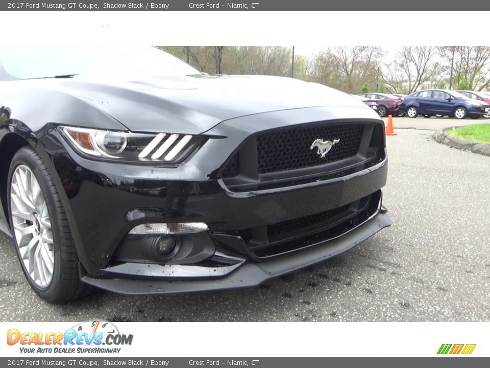 2017 Ford Mustang GT Coupe Shadow Black / Ebony Photo #25