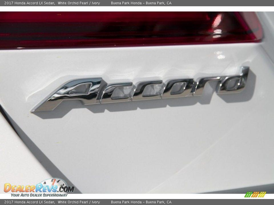 2017 Honda Accord LX Sedan White Orchid Pearl / Ivory Photo #3