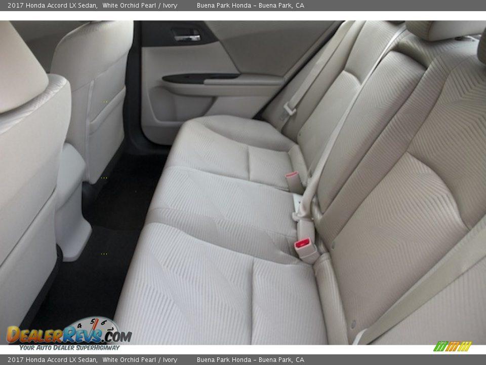 2017 Honda Accord LX Sedan White Orchid Pearl / Ivory Photo #11
