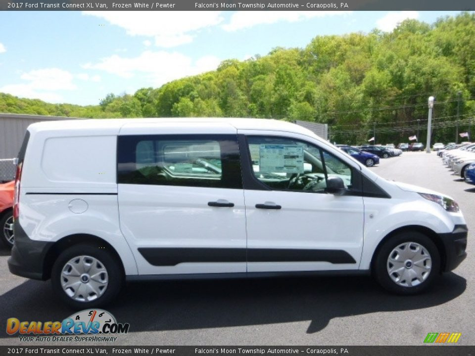 2017 Ford Transit Connect XL Van Frozen White / Pewter Photo #1