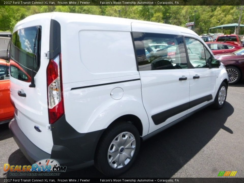 2017 Ford Transit Connect XL Van Frozen White / Pewter Photo #2