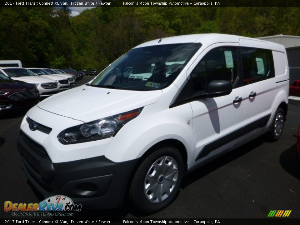 2017 Ford Transit Connect XL Van Frozen White / Pewter Photo #5