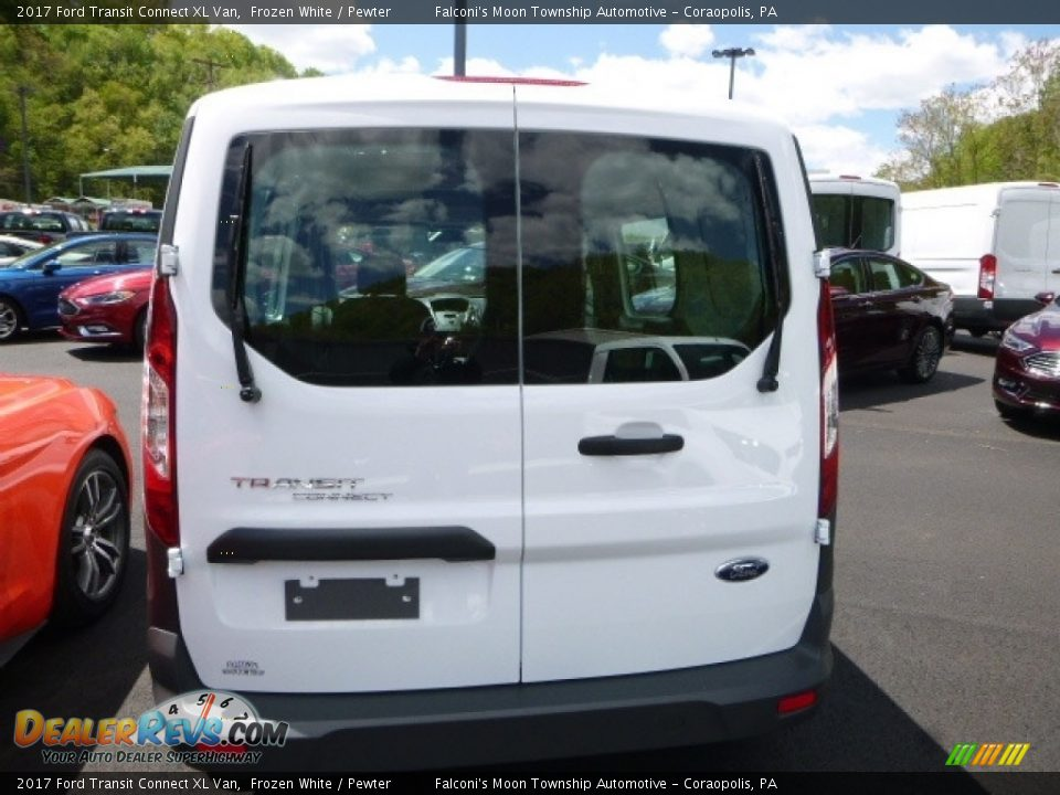 2017 Ford Transit Connect XL Van Frozen White / Pewter Photo #6
