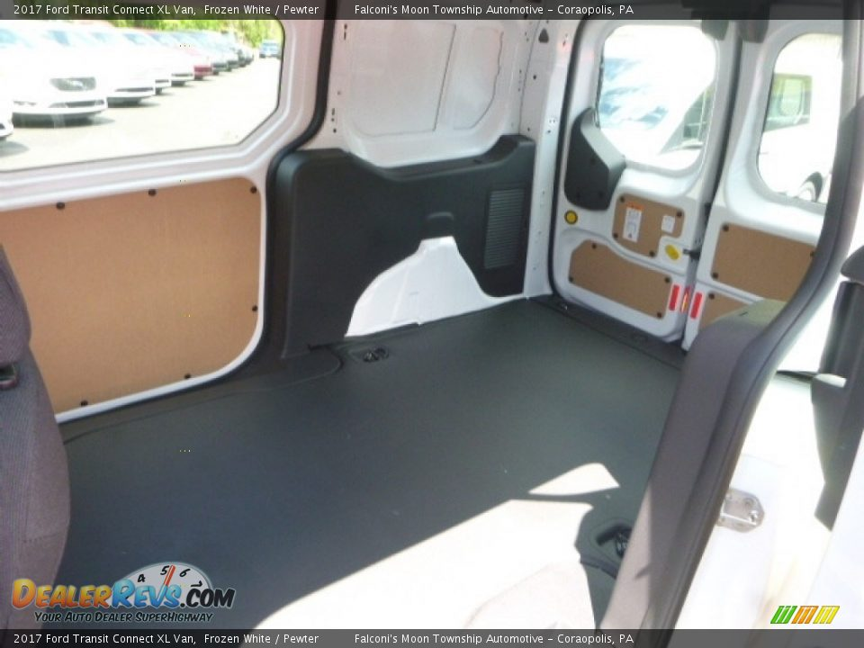 2017 Ford Transit Connect XL Van Frozen White / Pewter Photo #8