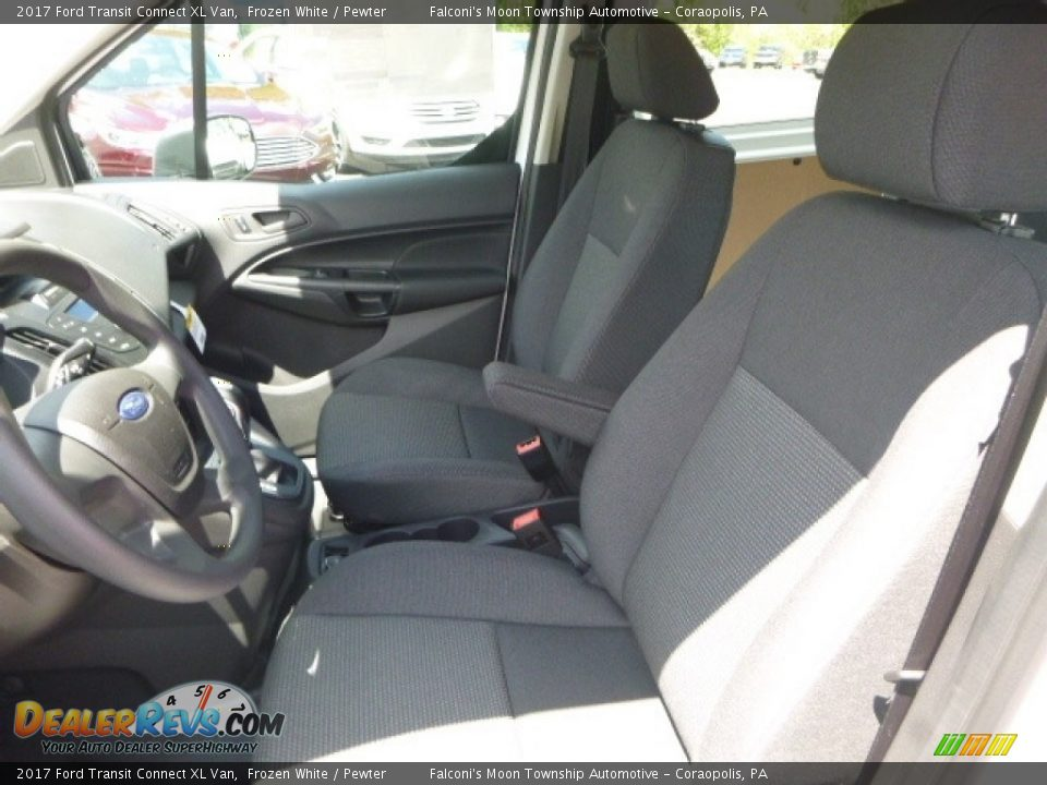 2017 Ford Transit Connect XL Van Frozen White / Pewter Photo #11