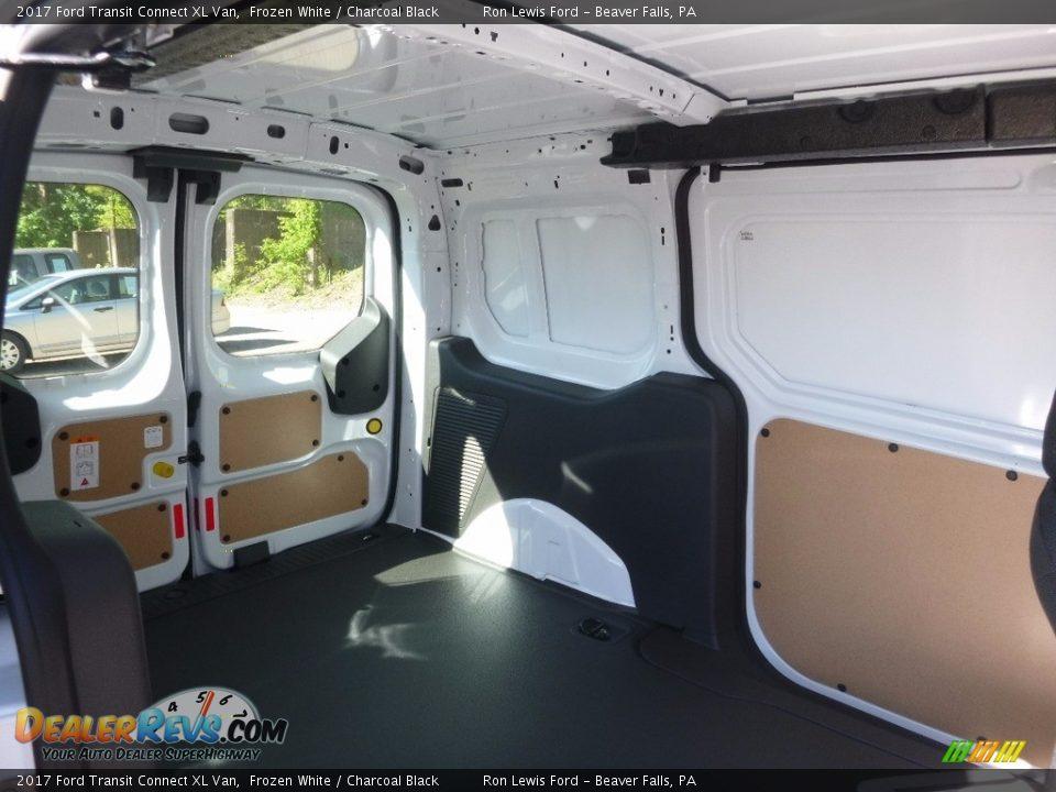 2017 Ford Transit Connect XL Van Frozen White / Charcoal Black Photo #3