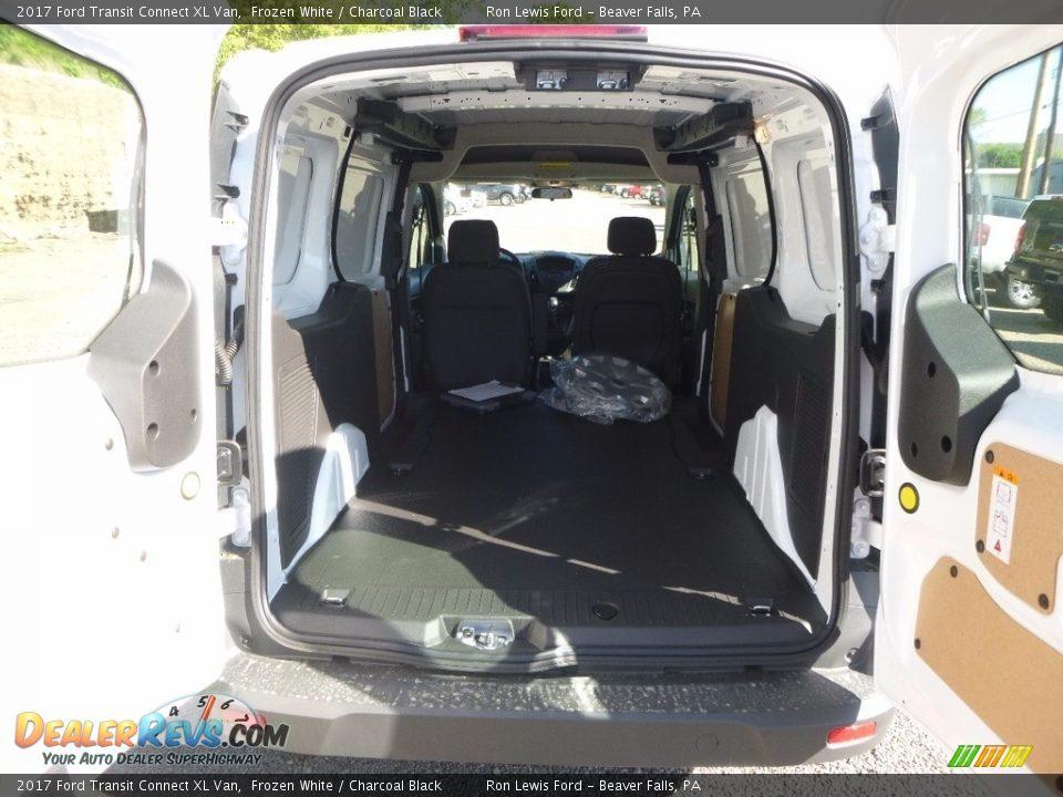 2017 Ford Transit Connect XL Van Frozen White / Charcoal Black Photo #6