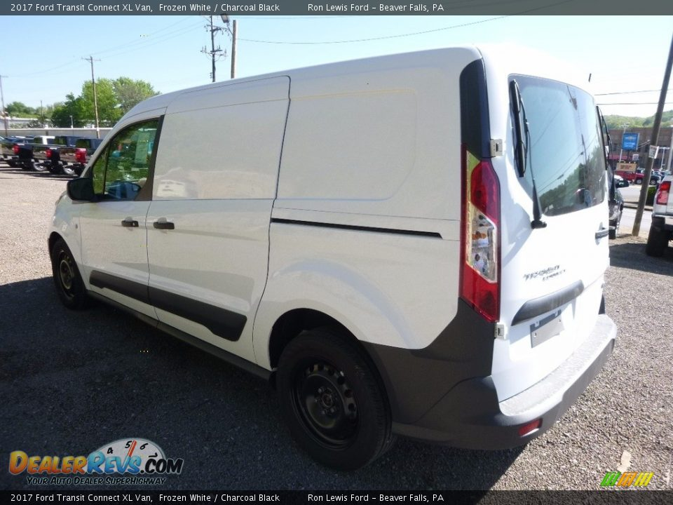 2017 Ford Transit Connect XL Van Frozen White / Charcoal Black Photo #7