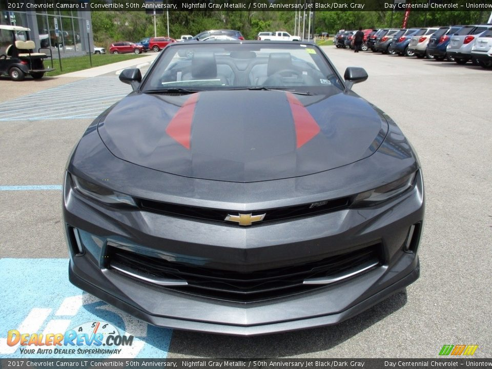 2017 Chevrolet Camaro LT Convertible 50th Anniversary Nightfall Gray Metallic / 50th Anniversary Jet Black/Dark Gray Photo #9