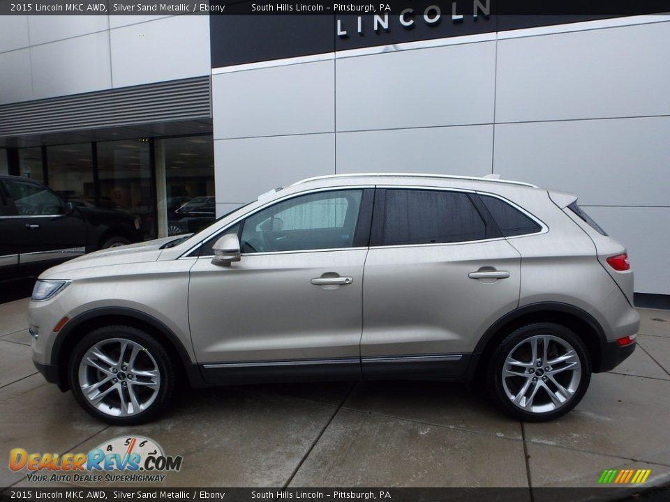 2015 Lincoln MKC AWD Silver Sand Metallic / Ebony Photo #2
