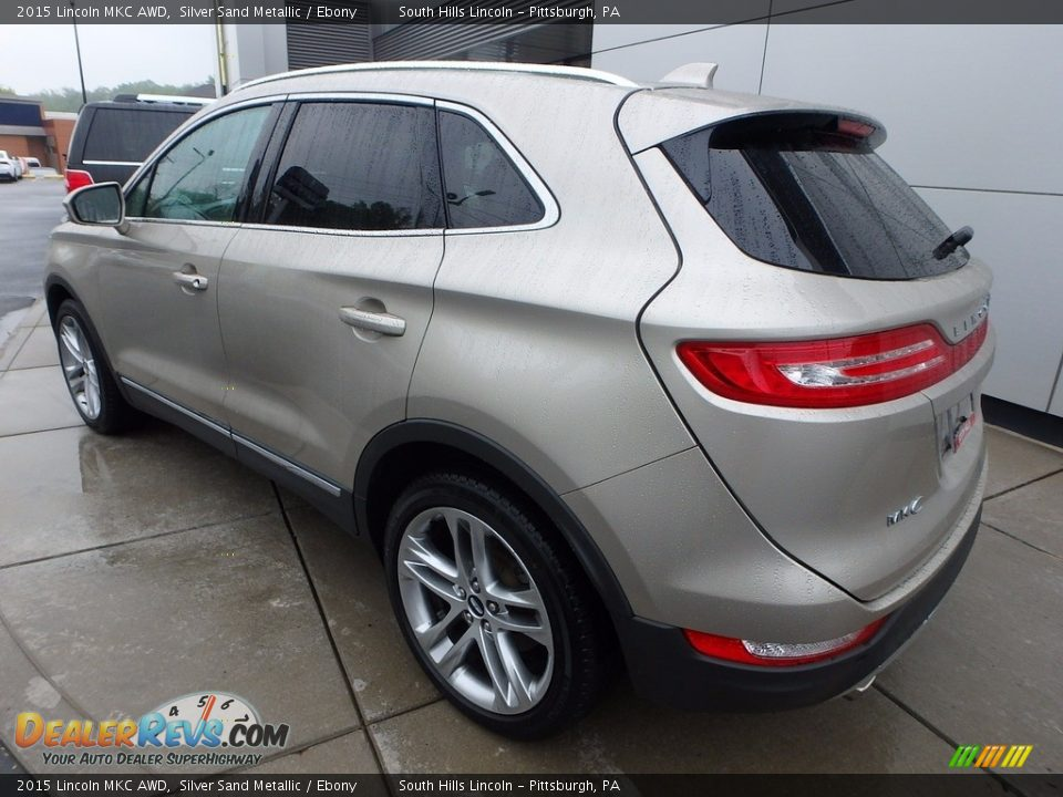 2015 Lincoln MKC AWD Silver Sand Metallic / Ebony Photo #3