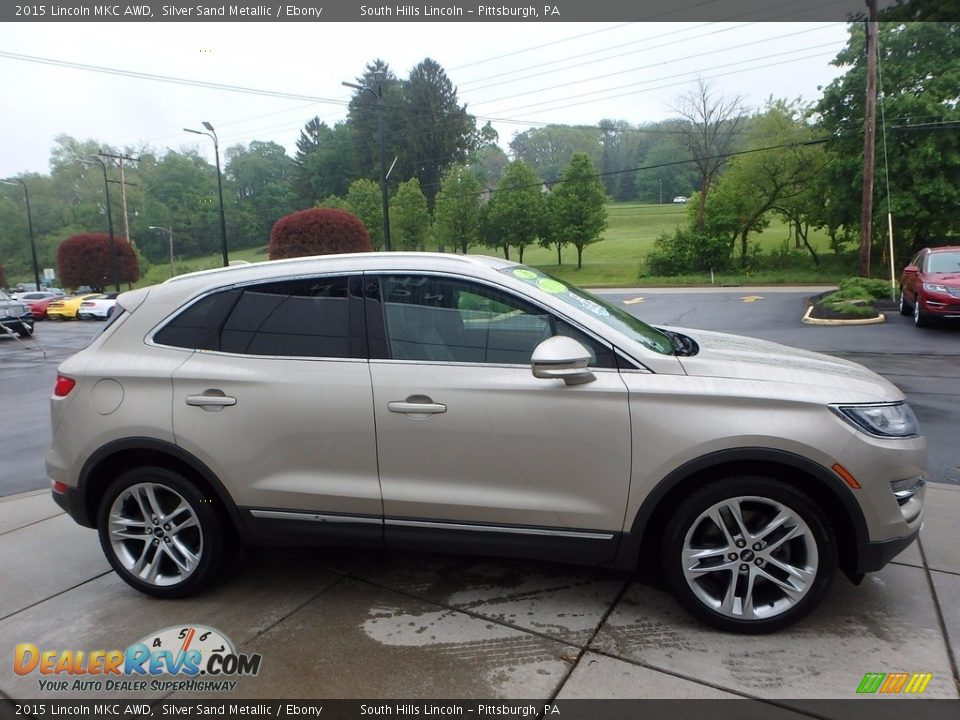 2015 Lincoln MKC AWD Silver Sand Metallic / Ebony Photo #6