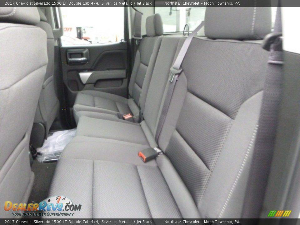 2017 Chevrolet Silverado 1500 LT Double Cab 4x4 Silver Ice Metallic / Jet Black Photo #13